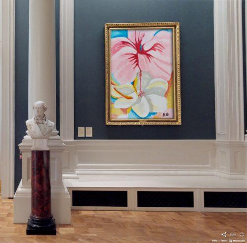 Rachel's painting from Art Academy's midterm art camp